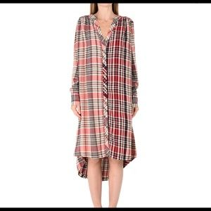 Free People Shirt Dress.